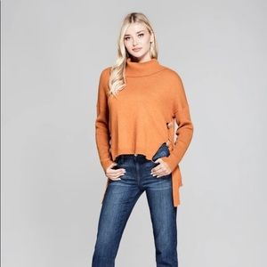 Kaitlyn Cowl Neck Sweater - XS